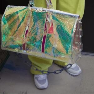 Louis Vuitton Transparent Monogram Keepall Bag 2 - Spring 2019