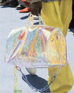 Louis Vuitton Transparent Monogram Keepall Bag - Spring 2019