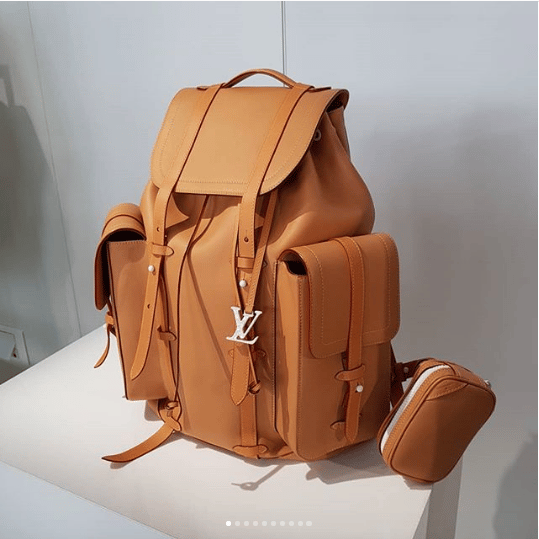 Louis Vuitton Vachetta Christopher Backpack Bag - Spring 2019. IG    hedonists  d2fff7cb838eb