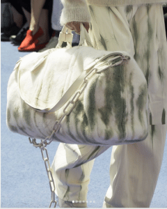 Louis Vuitton White Fur Keepall Bag - Spring 2019