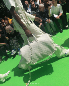 Louis Vuitton White Monogram Keepall Bag 2 - Spring 2019