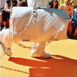 Louis Vuitton White Monogram Keepall Bag - Spring 2019