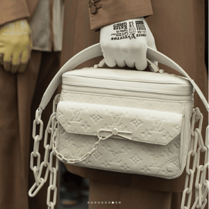 Louis Vuitton White Monogram Messenger Bag
