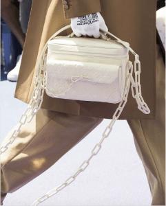 Louis Vuitton White Monogram Messenger Bag - Spring 2019