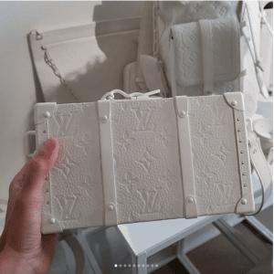 Louis Vuitton White Monogram Mini Trunk Bag - Spring 2019