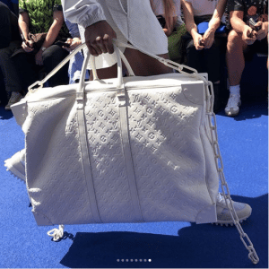 Louis Vuitton White Monogram Sirius Bag - Spring 2019