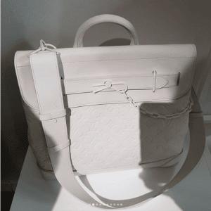 Louis Vuitton White Monogram Steamer Bag - Spring 2019