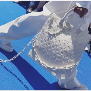 Louis Vuitton White Monogram Tote Bag - Spring 2019