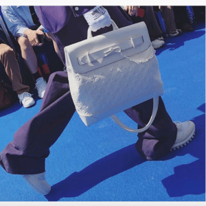 Louis Vuitton White Steamer Bag - Spring 2019