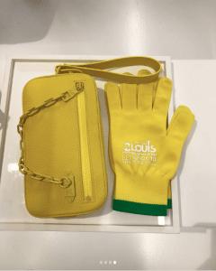 Louis Vuitton Yellow Mini Bag - Spring 2019