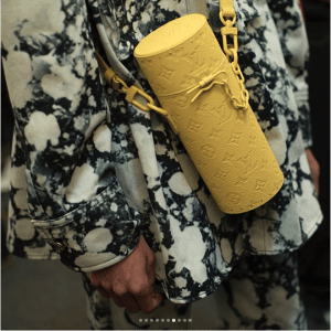 Louis Vuitton Yellow Monoram Mini Bag - Spring 2019