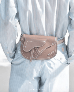 Dior Beige Saddle Belt Bag - Spring 2019