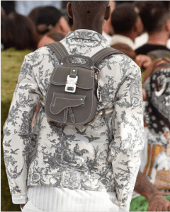 Dior Gray Mini Backpack Bag - Spring 2019