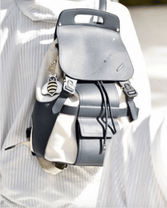 Dior Black/White Backpack Bag - Spring 2019