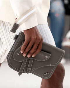 Dior Gray Clutch Bag - Spring 2019
