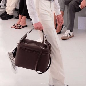 Dior Burgundy Top Handle Bag - Spring 2019