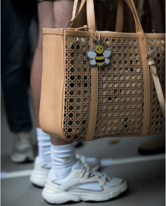 Dior Tan Perforated Cannage Tote Bag - Spring 2019