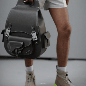 Dior Black Backpack Bag - Spring 2019
