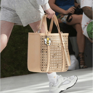 Dior Beige Perforated Cannage Tote Bag - Spring 2019