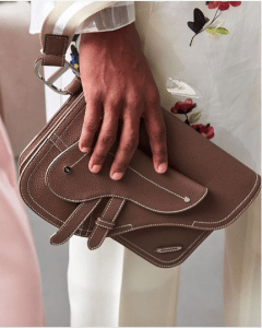 Dior Brown Mini Clutch Bag - Spring 2019