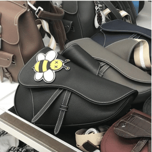 Dior Black Saddle Bag - Spring 2019