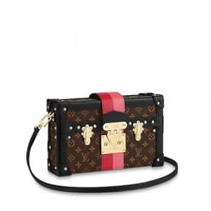 Louis Vuitton Monogram Canvas Petite Malle Bag