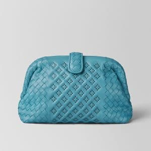 Bottega Veneta Aqua Nappa Microstuds The Lauren 1980 Bag