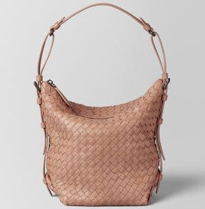 Bottega Veneta Dahlia Intrecciato Nappa Medium Osaka Bag