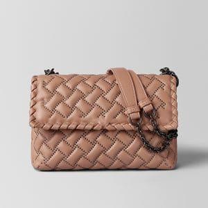 Bottega Veneta Dahlia Nappa Microstuds Olimpia Bag