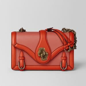 Bottega Veneta Hibiscus Calf City Knot Bag