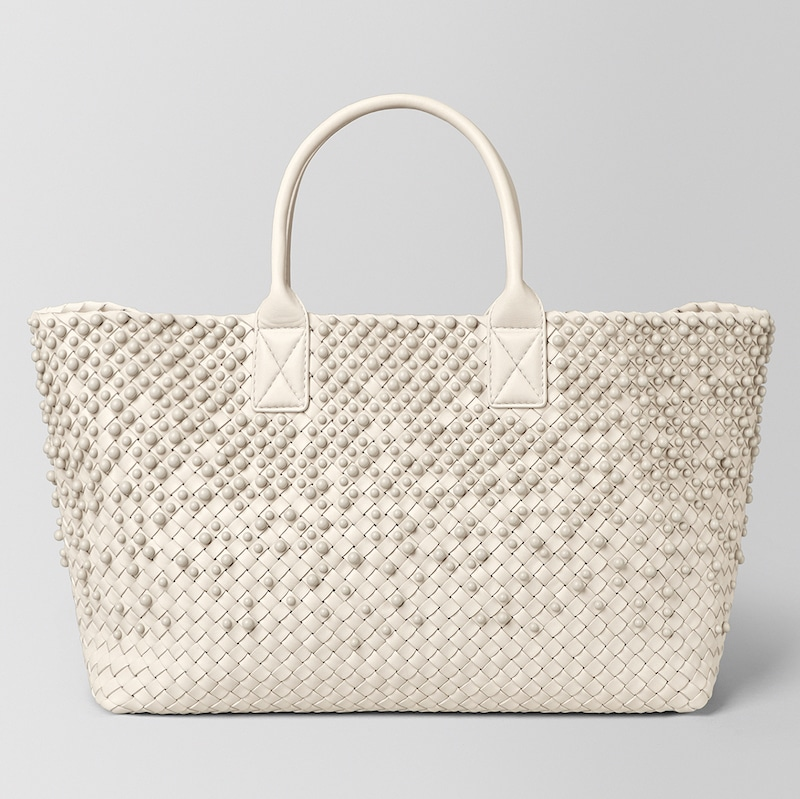 Bottega Veneta Mist Spheres Cabat Bag