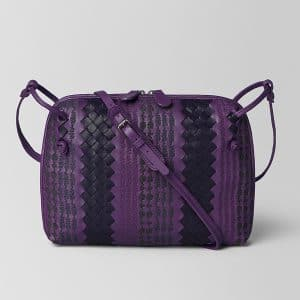 Bottega Veneta Monalisa Intrecciato Appia Messenger Bag