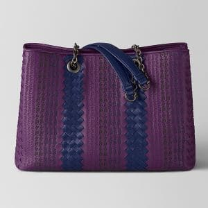 Bottega Veneta Monalisa Intrecciato Appia Tote Bag