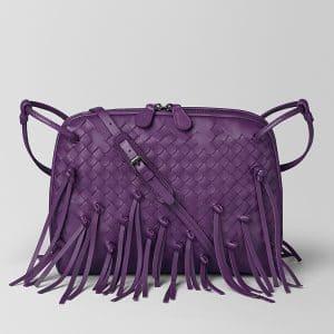 Bottega Veneta Monalisa Intrecciato Brio Messenger Bag