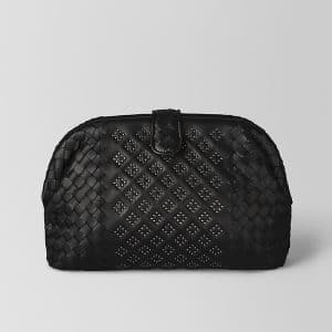 Bottega Veneta Nero Nappa Microstuds The Lauren 1980 Bag