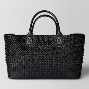 Bottega Veneta Nero Spheres Cabat Bag