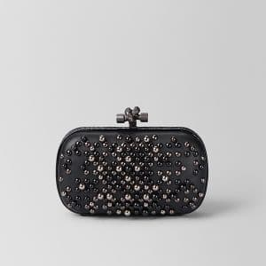 Bottega Veneta Nero Spheres Knot Bag