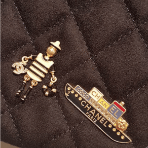 Chanel Sailor and Cruise Ship Brooches