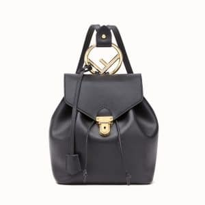 Fendi Black Backpack Bag