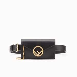 Fendi Black Belt Bag