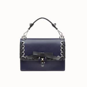 Fendi Blue Bow Kan I Bag