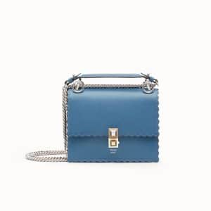 Fendi Blue Kan I Small Bag