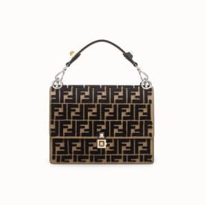Fendi Brown FF Kan I Bag