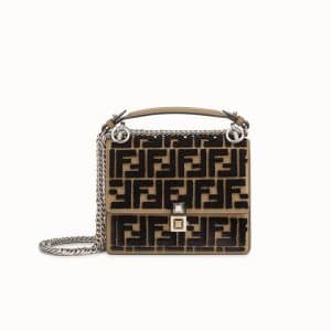 Fendi Brown Kan I Small Bag