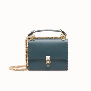 Fendi Green Kan I Small Bag