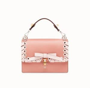 Fendi Pink Bow Kan I Bag
