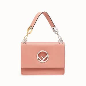 Fendi Pink Kan I Logo Bag