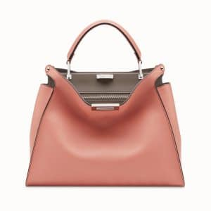 Fendi Pink Peekaboo Essential Bag
