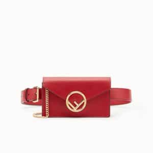 Fendi Red Belt Bag