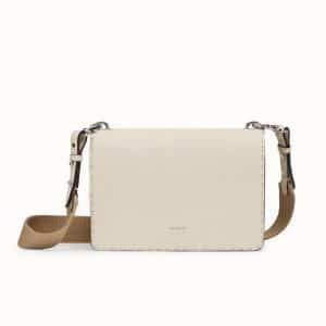 Fendi White Messenger Bag